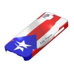 Bandera de Puerto Rico iPhone 5 Protector