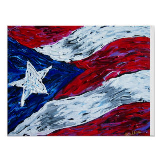 Bandera de Puerto Rico Impresiones