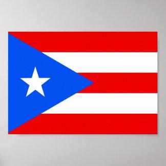 Bandera de Puerto Rico Posters