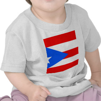 Bandera de Puerto Rico Camisetas