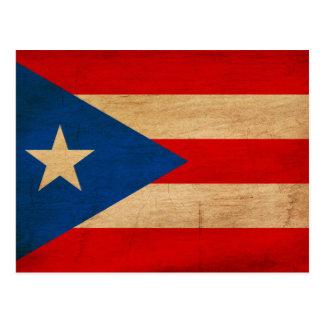 Bandera de Puerto Rico Postales