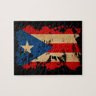 Bandera de Puerto Rico Puzzles