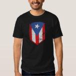 Bandera de Puerto Rico Remera