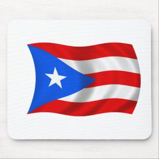 Bandera de Puerto Rico Tapete De Ratón
