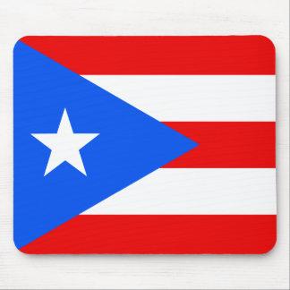 Bandera de Puerto Rico Alfombrillas De Raton
