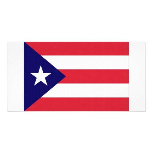 Bandera de Puerto Rico Tarjeta Personal