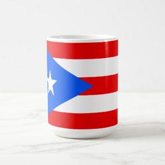 Bandera de Puerto Rico Tazas De Café