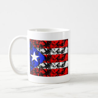 Bandera de Puerto Rico Taza De Café