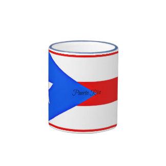 Bandera de Puerto Rico Taza De Dos Colores
