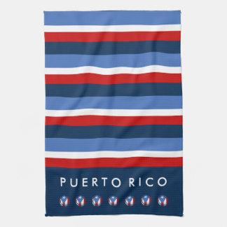 Bandera de Puerto Rico: Tradicional Toallas De Mano