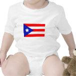 Bandera de Puerto Rico Trajes De Bebé