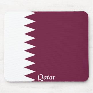 Bandera de Qatar Alfombrillas De Ratón