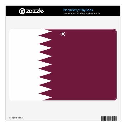 Bandera de Qatar BlackBerry Calcomanía