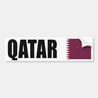 Bandera de Qatar Pegatina Para Coche