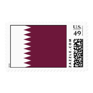 Bandera de Qatar Sello