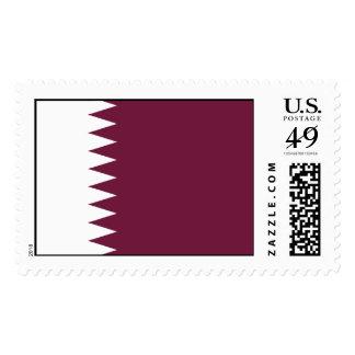 Bandera de Qatar Timbres Postales