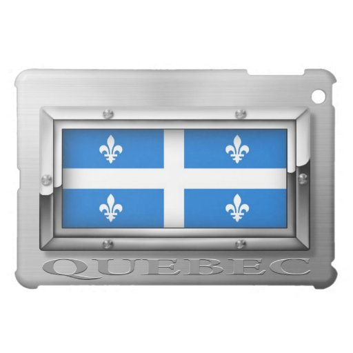 Bandera de Quebec (acero)