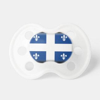 Bandera de Quebec (Canadá) Chupetes Para Bebes