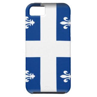 Bandera de Quebec (Canadá) iPhone 5 Cárcasas