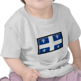 Bandera de Quebec (Canadá) Camiseta