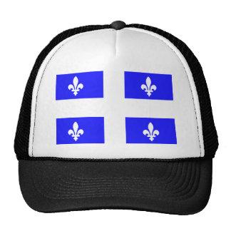 Bandera de Quebec Gorros Bordados