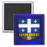 Bandera de Quebec Imán Para Frigorífico