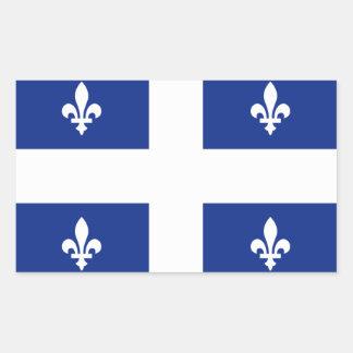 Bandera de Quebec Etiquetas