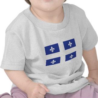 Bandera de Quebec Camisetas