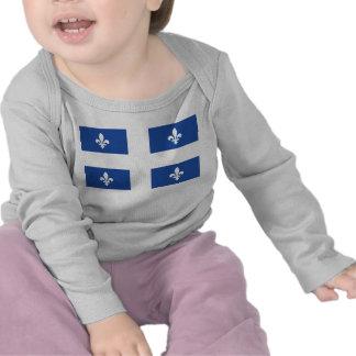 Bandera de Quebec Camiseta