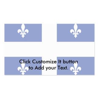 Bandera de Quebec Tarjeta De Visita