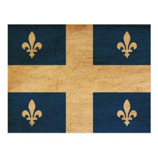 Bandera de Quebec Postales