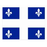 Bandera de Quebec Tarjetas Postales
