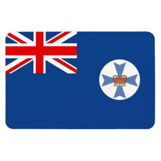 Bandera de Queensland del australiano Imanes Flexibles