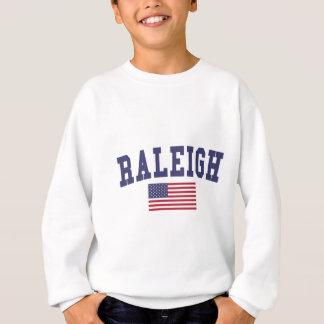 Bandera de Raleigh los E.E.U.U. Playera