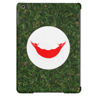 Bandera de Rapa Nui en hierba Funda Para iPad Air