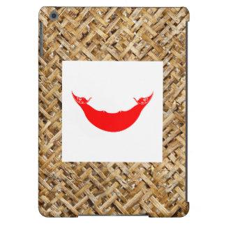 Bandera de Rapa Nui en la materia textil temática Funda Para iPad Air