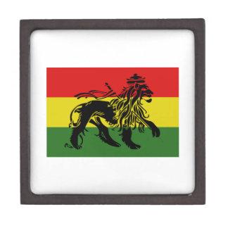 Bandera de Rastafari Cajas De Recuerdo De Calidad