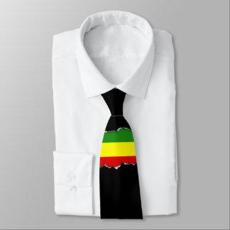 Bandera de Rastafarian Corbata Personalizada