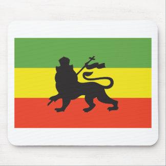 Bandera de Rastafarian Mouse Pad