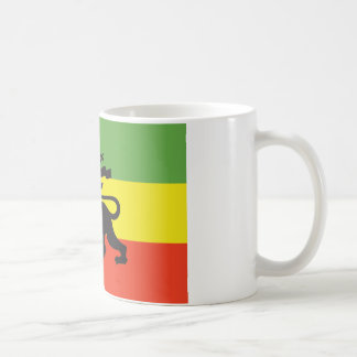 Bandera de Rastafarian Tazas