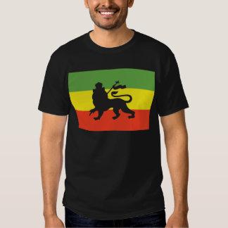 Bandera de Rastafarian Remera