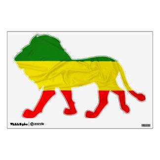 Bandera de Rastafarian Vinilo