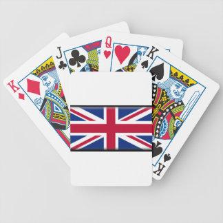 Bandera de Reino Unido Baraja Cartas De Poker