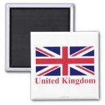 Bandera de Reino Unido con nombre Iman