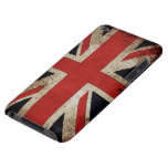 Bandera de Reino Unido del Grunge del vintage Barely There iPod Protector