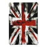 Bandera de Reino Unido del Grunge del vintage iPad Mini Fundas