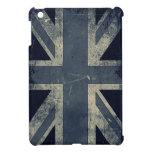 Bandera de Reino Unido del Grunge del vintage iPad Mini Protectores