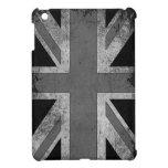 Bandera de Reino Unido del Grunge del vintage iPad Mini Funda