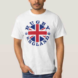 Bandera de Reino Unido del rugbi Playera