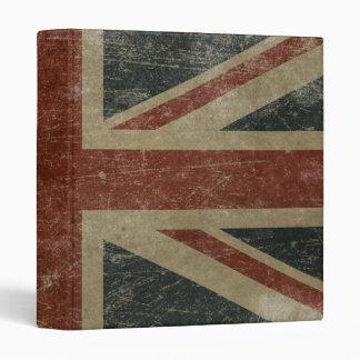 """Bandera de Reino Unido del vintage Carpeta 1"""""""